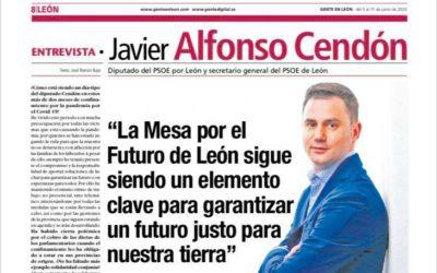 """""""La Mesa por León sigue siendo un elemento clave para garantizar un futuro justo para nuestra tierra"""""""